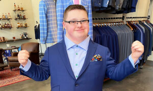 Designer Fulfills Dream of Down Syndrome Man Who Saved for a Year to Buy Custom Suit