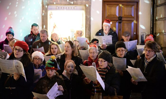 It's as if the creators of carols were inspired to aim very high indeed, and succeeded in ways that matter to a lot of people. (1000 Words/Shutterstock)