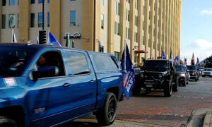 Trump Supporters Hold Rally in Dallas, Texas