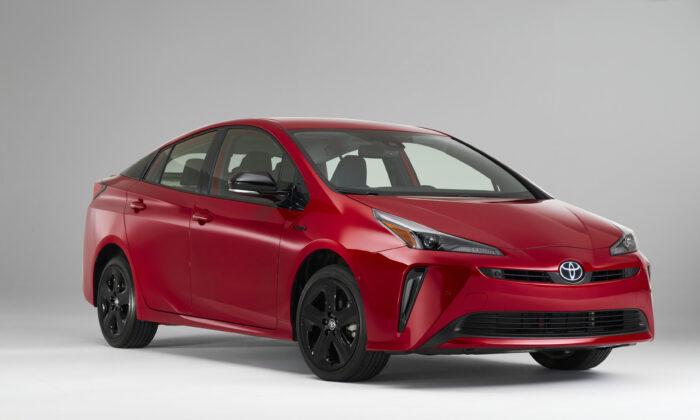 2021 Toyota Prius 2020 Edition. (Courtesy of Toyota)