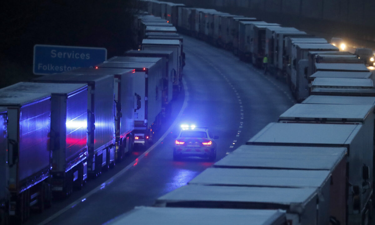 Dover M20 Operation Stack lorries