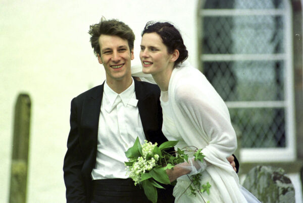 Stella Tennant with David Lasnet