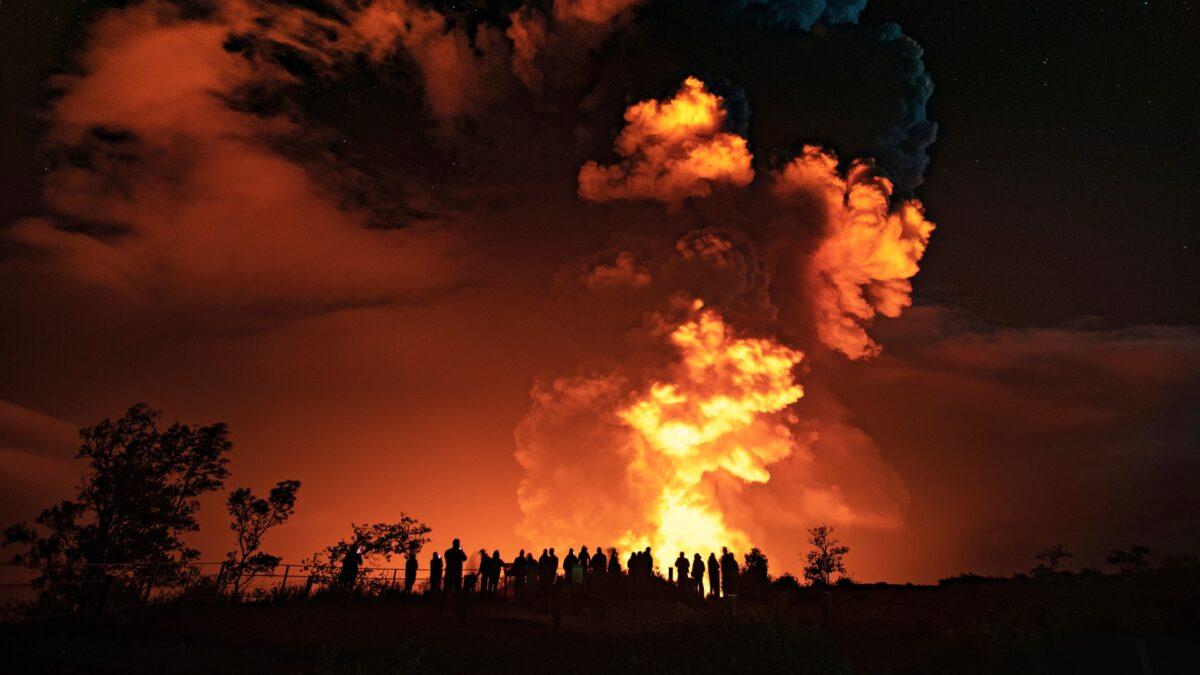 eruption Hawaii's Kilauea volcano