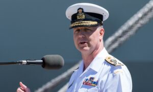 Navy Commander Art McDonald Named Canada's New Chief of Defence Staff