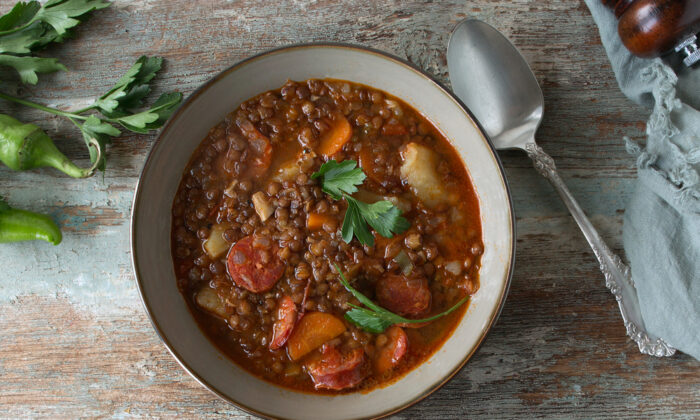 In Spain, it is tradition to have lentils in the New Year, as the coin-shaped legumes are said to bring prosperity and wealth. (kochabamba/Shutterstock)