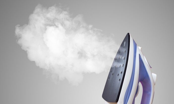 A rule of thumb is to clean a steam iron every month, or after 30 reservoir fill-ups. (Himchenko.E/Shutterstock)