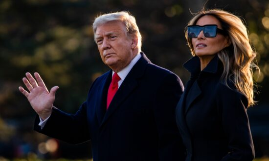 Trump and Melania Wish Americans Merry Christmas in Video Message