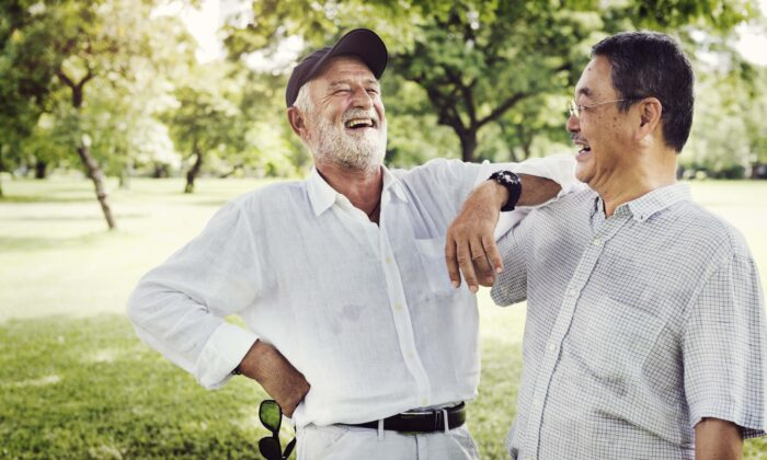 Laughing is a great way to lift your mood and ease your stress.(Rawpixel.com/Shutterstock)