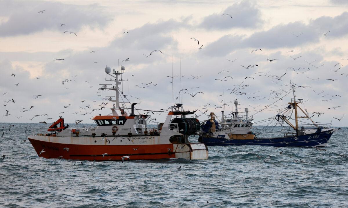 French, Dutch trawlers