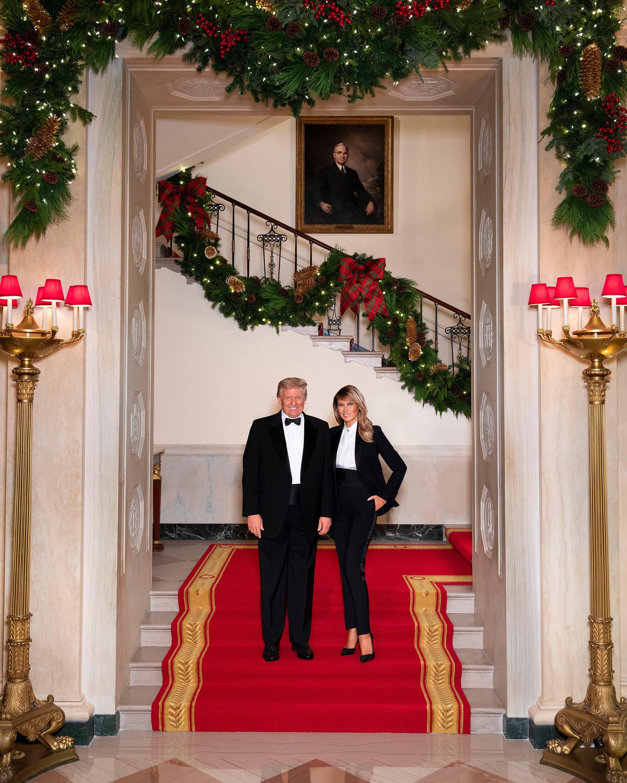Trump Christmas White House