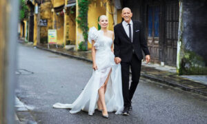 Vietnamese Bride Shaves Her Head to Show Solidarity to American Fiancé Battling Cancer