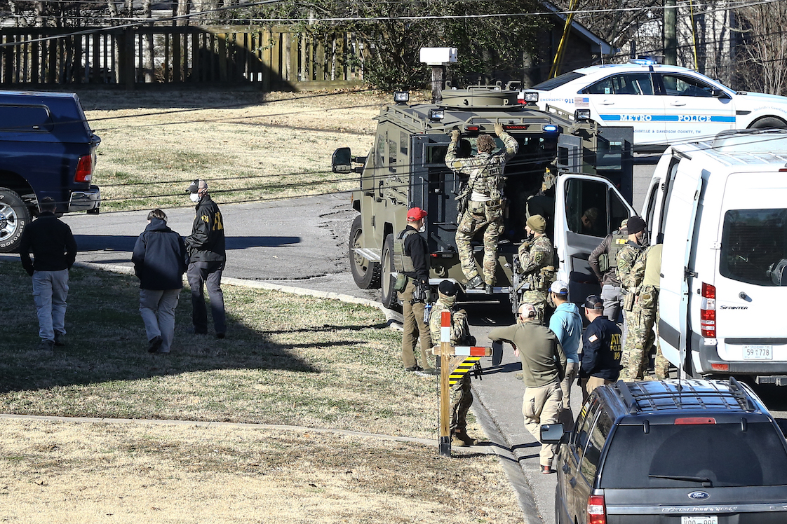 Nashville RV Bombing Anthony Quinn Warner