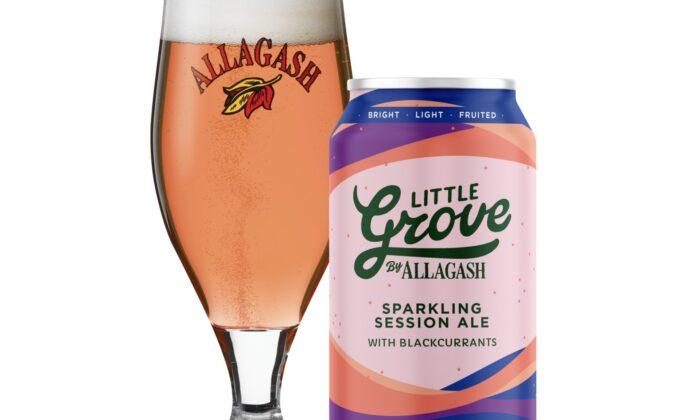 Allagash Brewing Co.'s Little Grove Blackcurrant. (Courtesy of Allagash Brewing Co.)