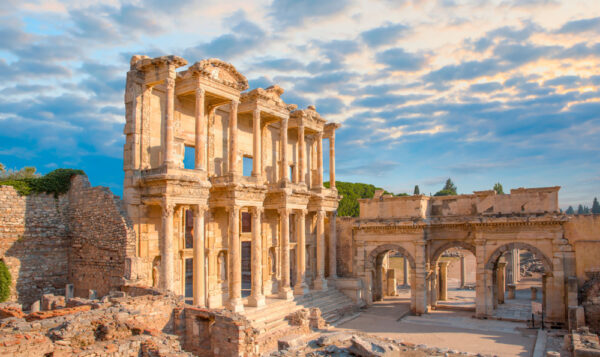 Celsus Library in Ephesus