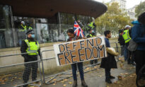 Organiser of London Anti-Lockdown Protest Could be Fined £10,000