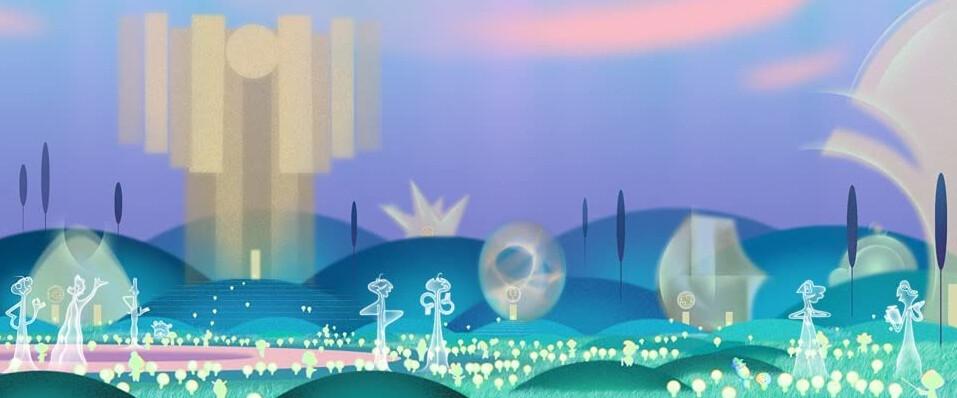 "other dimensional landscape in ""Soul"""