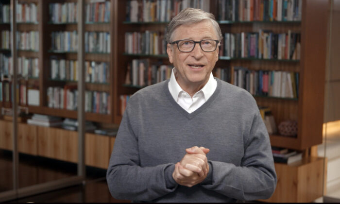 Bill Gates speaks during All In WA: A Concert For COVID-19 Relief in Washington on June 24, 2020. (Getty Images/Getty Images for All In WA)