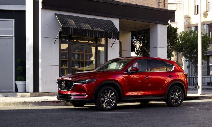 2021 Mazda CX-5. (Courtesy of Mazda)