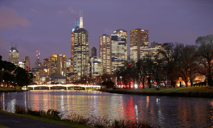 A general view of the CBD from the south bank of the Yarra River on August 24, 2015 in Melbourne, Australia.  (Darrian Traynor/Getty Images)