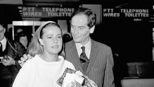 Jeanne Moreau and Pierre Cardin