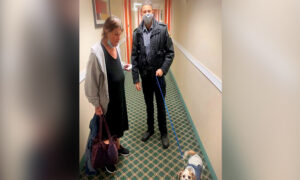 Homeless Woman and Her Dog Couldn't Find Shelter–so State Trooper Pays for Her Hotel Room