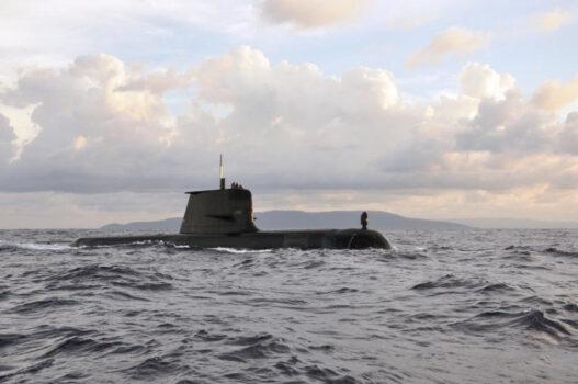 Royal Australian Navy Collins Class Submarine