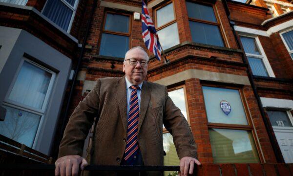 Unionist Orange order leader Mervyn Gibson