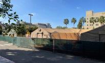 University of California–Irvine Medical Center Erects Mobile Field Hospitals