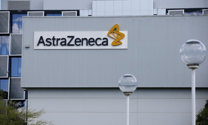 A general view of AstraZeneca is seen in Sydney, Australia, on Aug. 19, 2020. (Lisa Maree Williams/Getty Images)