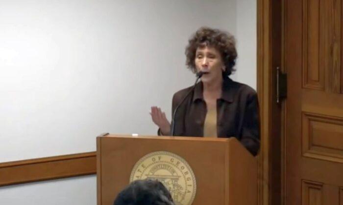 Debbie Fisher (NTD Live screenshot)