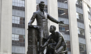Abraham Lincoln Statue Removed by Boston Commission