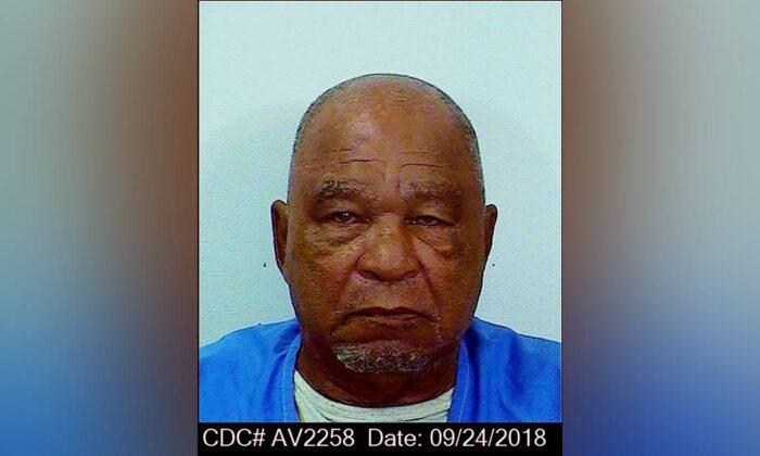 Samuel Little in Sept. 24, 2018. (California Department of Corrections via AP)