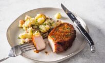 For Tender, Juicy Chops With a Stay-Put Glaze, Take It Slow