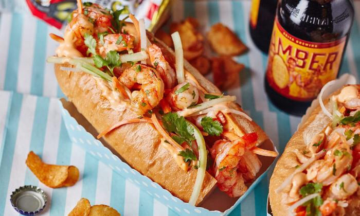 Shrimp po'boys are a staple of New Orleans cuisine. (Lauren Volo/TNS)