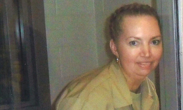 Lisa Montgomery, a federal prison inmate, at the Federal Medical Center Fort Worth in an undated photograph.   (Courtesy of Attorneys for Lisa Montgomery via Reuters)