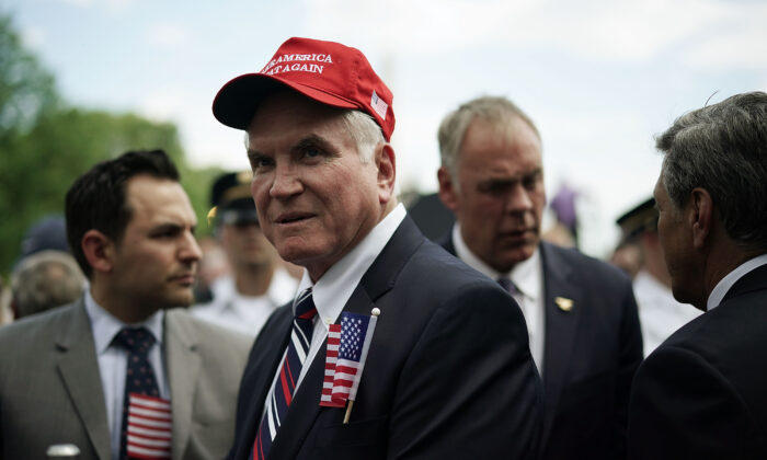 Rep. Mike Kelly (R-Pa.) attends an event at the White House in Washington in a file photograph. (Alex Wong/Getty Images)