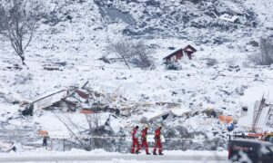3rd Body Found After Landslide in Norway; 7 Still Missing