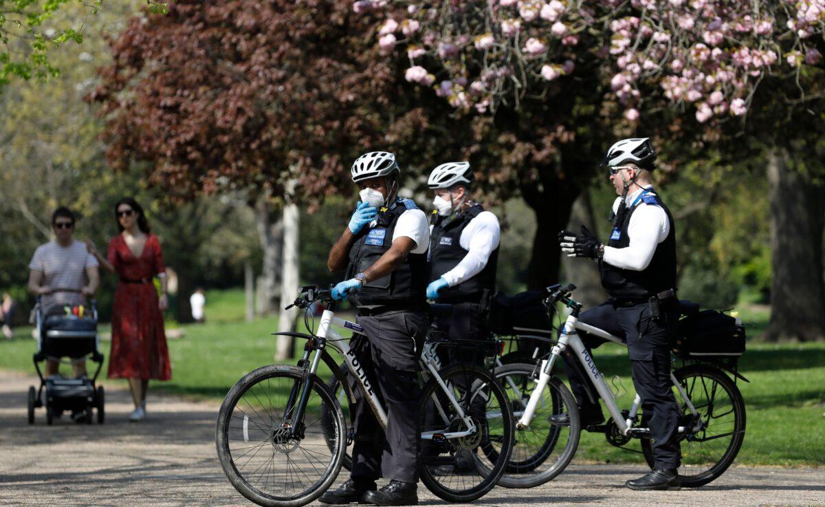 London police covid