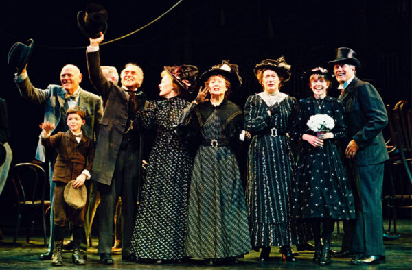 The cast of the 2002–03 Broadway revival of Thornton Wilder's Our Town