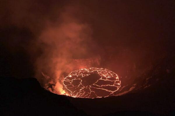 Continuing eruption of Hawaii's Kilauea volcano