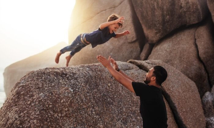 We learn to trust as children, when our life is marked by dependency. (Jacob Lund/Shutterstock)
