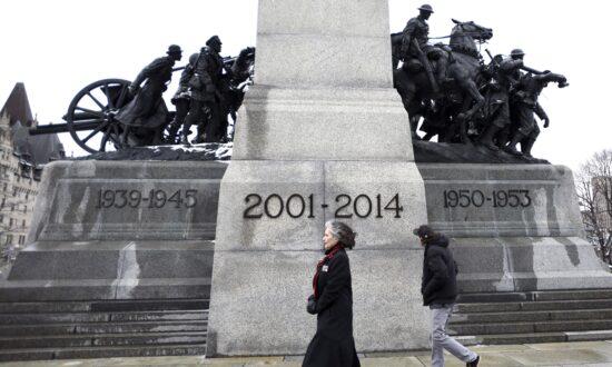 Vandals Deface Afghanistan Memorial in Cobourg, Ontario