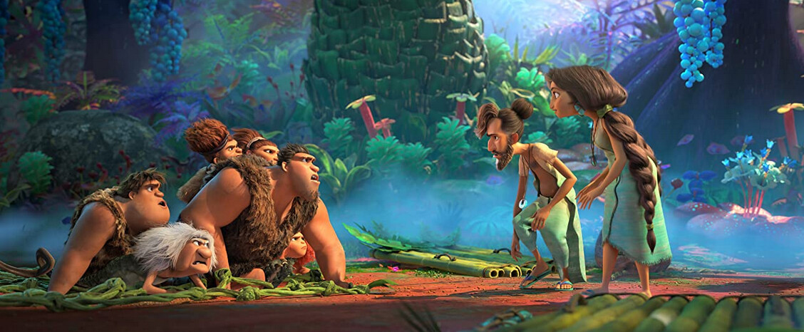 "Neanderthal family meets Cro-Magnon family in ""The Croods: New Age"""