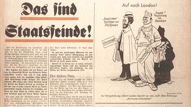 A 1937 edition of the Das Schwarze Korps, the official newspaper of the Schutzstaffel (SS). (Public Domain)