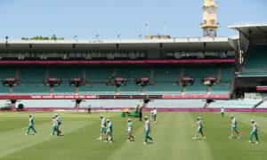 Mask Wearing Mandatory at Sydney Cricket Test