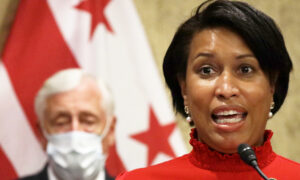 DC Mayor Seen Maskless at Events Before and After Implementing New Mask Policies