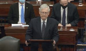 McConnell Ready To Negotiate Senate Power Sharing Agreement, but Warns of Consequences if Filibuster Is Not Honored
