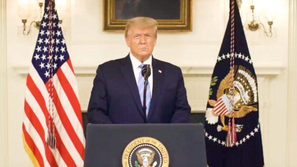 Trump's video message