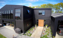 Luxury Home Built From 12 Industrial Shipping Containers Hits the Market in New Zealand
