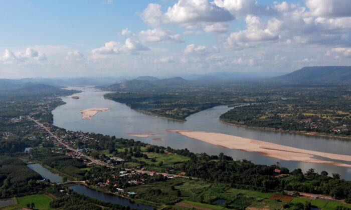 A view of the Mekong river bordering Thailand and Laos is seen from the Thai side in Nong Khai, Thailand, on Oct. 29, 2019. (Soe Zeya Tun/File Photo/Reuters)